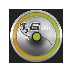 diámetro hilo de nylon 1.6 mm