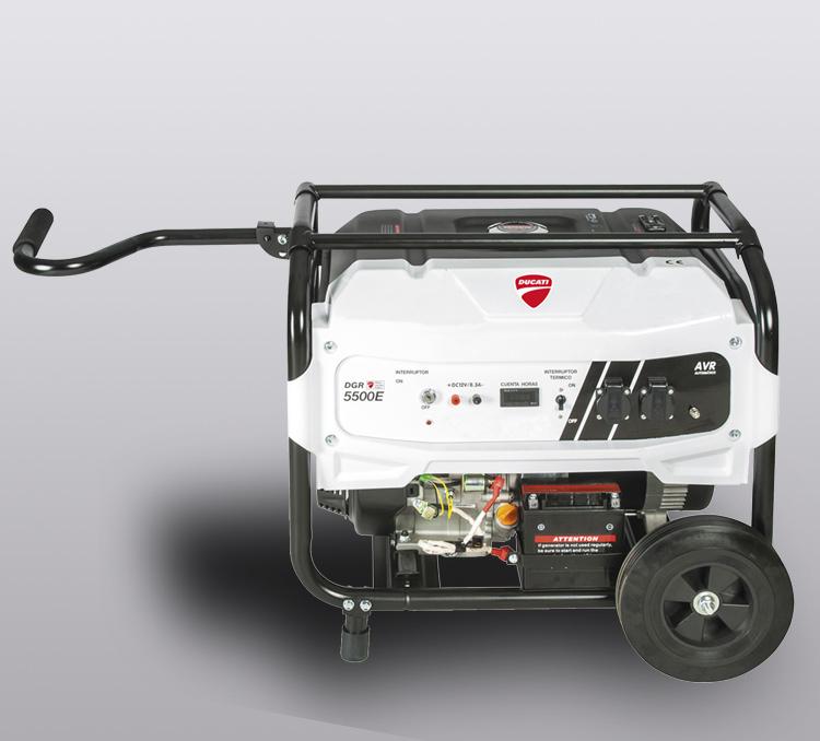 Generador de gasolina Ducati 389 cc, electrico