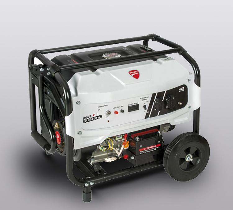Generador de Gasolina Ducati 389 cc, 230-400 v